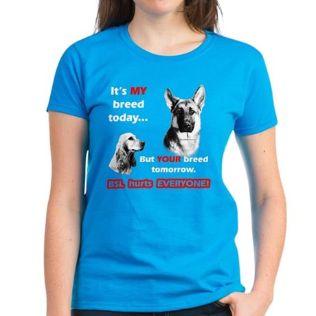 GSD BSL2 Women's Dark T-Shirt
