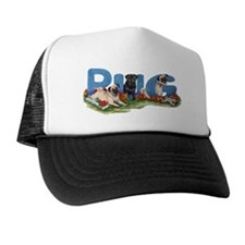 Pug party Trucker Hat