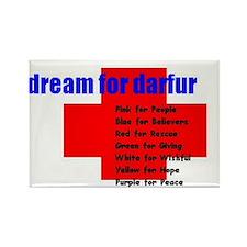 Colors of Darfur Magnet