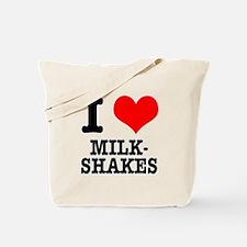 I Heart (Love) Milkshakes Tote Bag