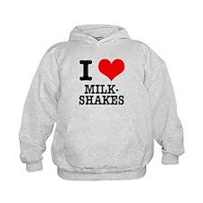 I Heart (Love) Milkshakes Hoodie