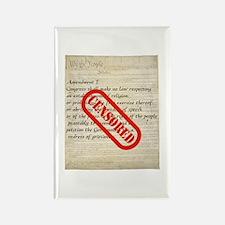 Constitution CENSORED Rectangle Magnet