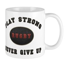 Rugby Play Strong Mug