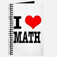 I Heart (Love) Math Journal