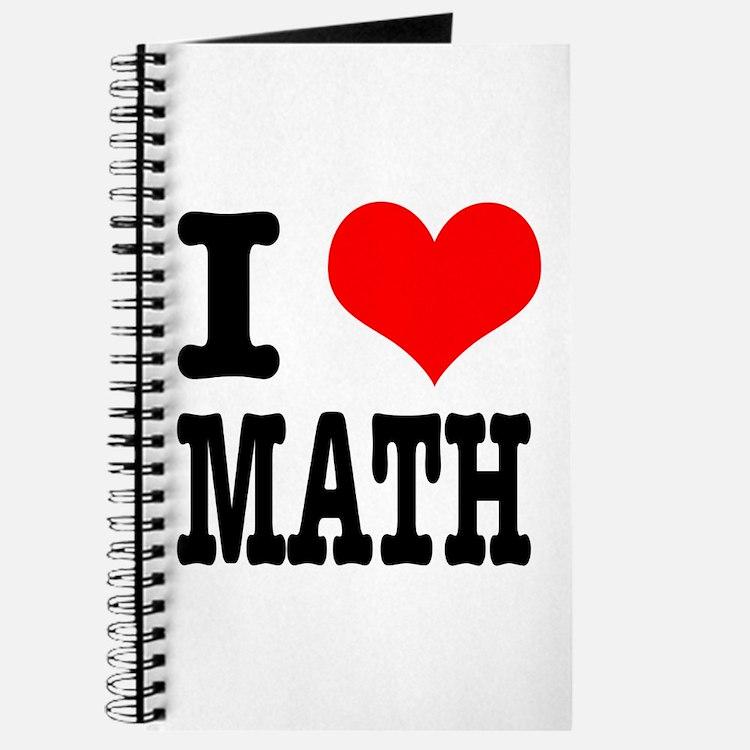I Heart (Love) Math Journal
