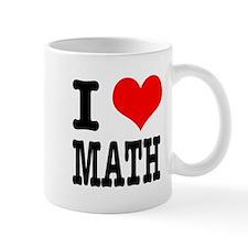 I Heart (Love) Math Mug