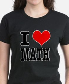 I Heart (Love) Math Tee