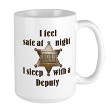 Safe at Night Deputy Mugs