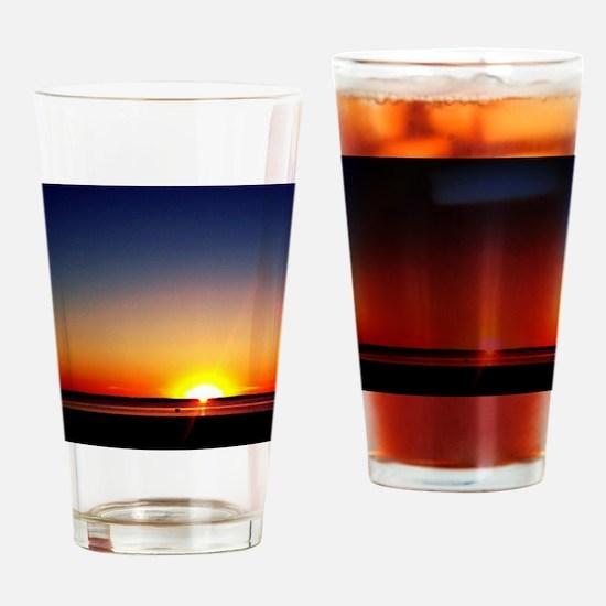 Lavallette Sunset Drinking Glass