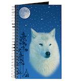 Wolf lovers Journals & Spiral Notebooks