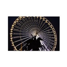 George Washington in Paris Rectangle Magnet