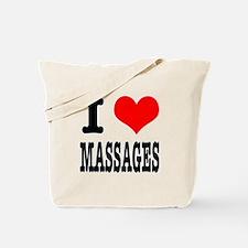 I Heart (Love) Massages Tote Bag