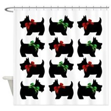 Scottie Dogs Shower Curtain