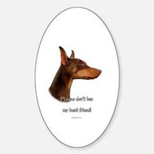 Dobe (red) BSL1 Oval Decal