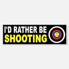 SHOOTING Bumper Bumper Bumper Sticker