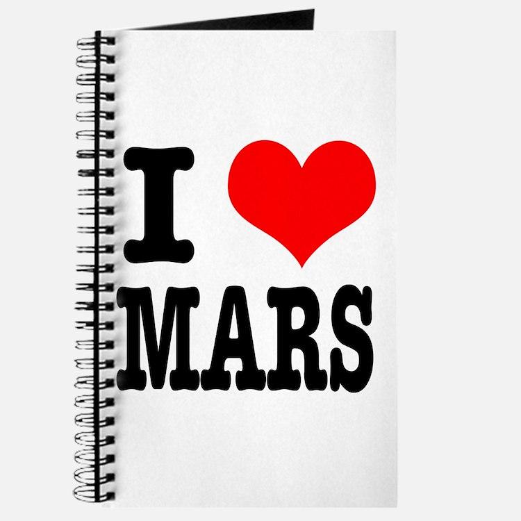 I Heart (Love) Mars Journal