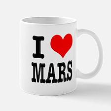 I Heart (Love) Mars Mug