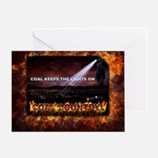 Coal Country Greeting Card