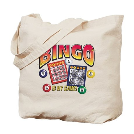 Bingo Is My Game Tote Bag