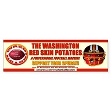 WRSP bumper sticker - support your spuds! with ca