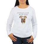 Probverbs 17:17 Women's Long Sleeve T-Shirt