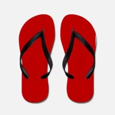 JUST COLORS: RED Flip Flops