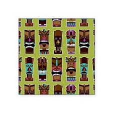 Colorful Tiki Mask Pattern Sticker