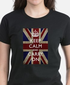 large_KEEP_CALM_UNION_JACK T-Shirt