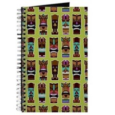 Colorful Tiki Mask Pattern Journal
