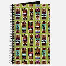 Colorful Tiki Mask Pattern Journal