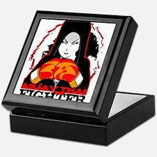 Muay Thai Fighter Keepsake Box