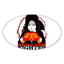 Muay Thai Fighter Decal