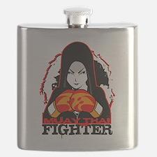 Muay Thai Fighter Flask