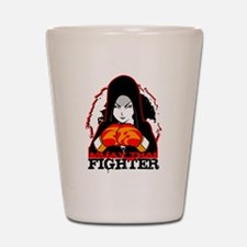 Muay Thai Fighter Shot Glass