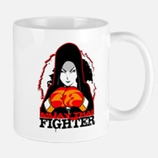 Muay Thai Fighter Mugs