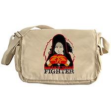 Muay Thai Fighter Messenger Bag