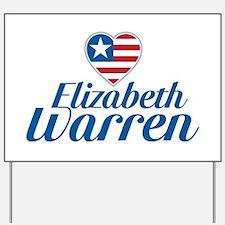 Elizabeth Warren Yard Sign