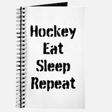 Hockey Eat Sleep Repeat Journal