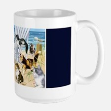 Kittens At The Beach Mug