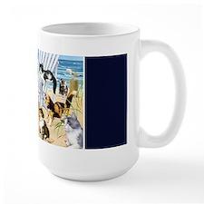 Kittens At The Beach Mug