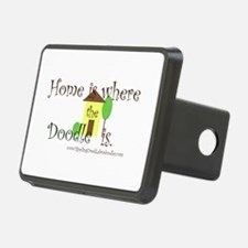 Home Is Where The Doodle Is Hitch Cover