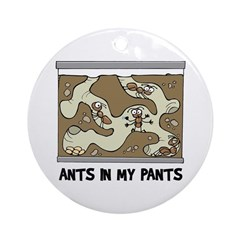 Ant Farm Ornament (Round)