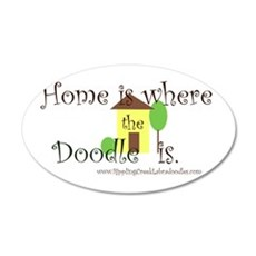 Home Is Where The Doodle Is Wall Decal