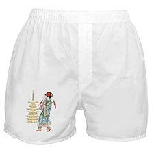 Pagoda Princess Boxer Shorts
