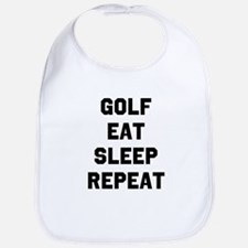 Golf Eat Sleep Repeat Bib