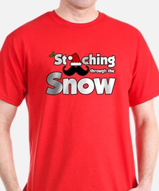 Staching Through the Snow T-Shirt