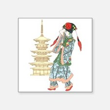 Pagoda Princess Sticker