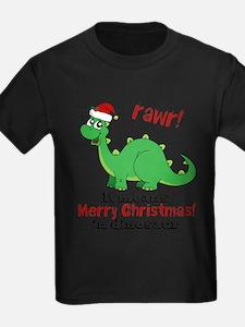 Dinosaur Christmas T-Shirt