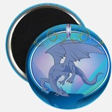The blue dragon Magnets