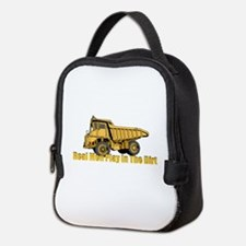 Real Men Play In The Dirt Neoprene Lunch Bag